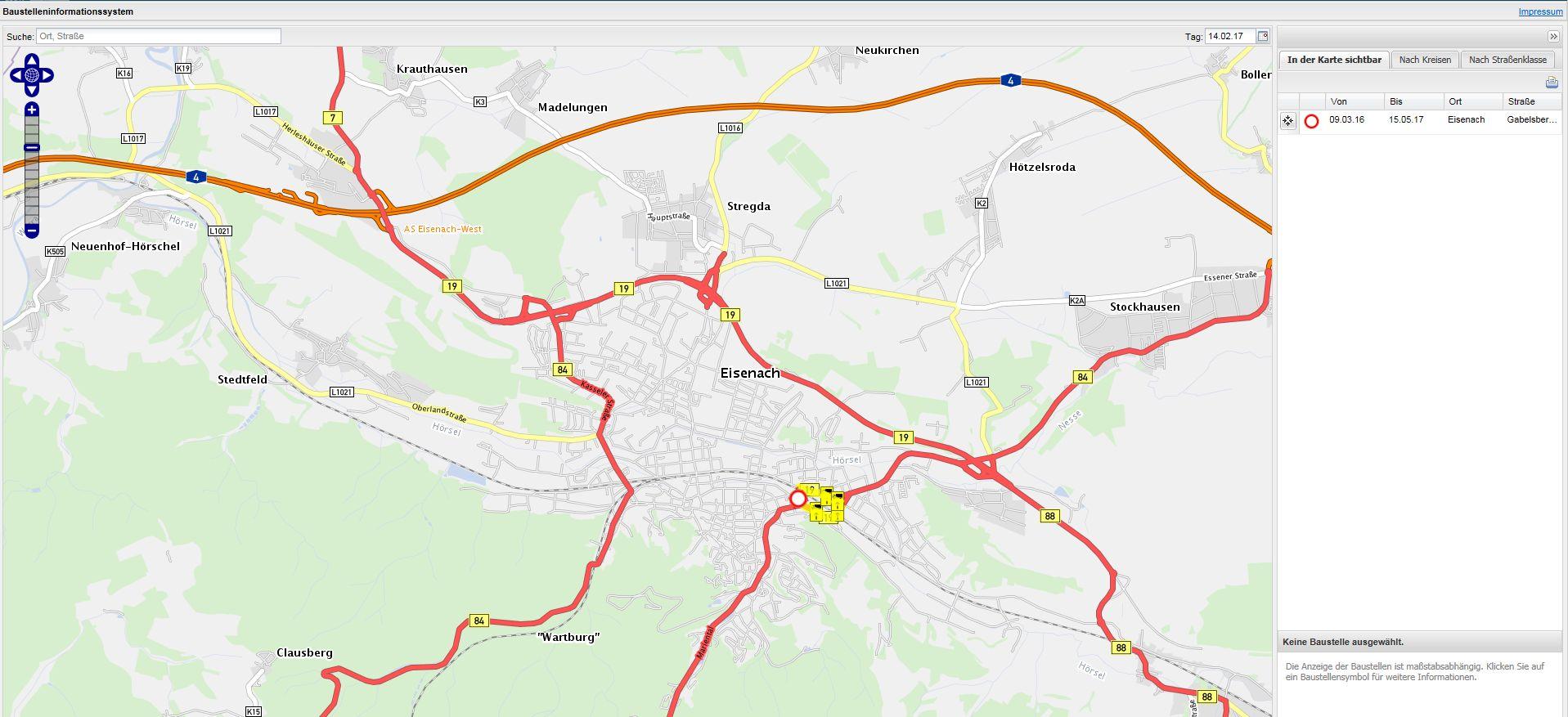 Karte Mit Hausnummern.Stadtplan Karten Wartburgstadt Eisenach
